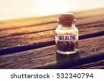 coin in piggy bank with text... | Shutterstock . vector #532340794