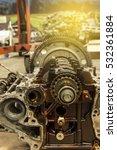 technician working repair... | Shutterstock . vector #532361884