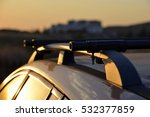 roof rack on estate car   Shutterstock . vector #532377859