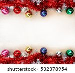 christmas background with... | Shutterstock . vector #532378954