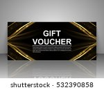 gift voucher template. | Shutterstock .eps vector #532390858