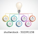infographic design organization ... | Shutterstock .eps vector #532391158