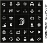 business planning icons... | Shutterstock . vector #532392949