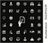 business planning icons... | Shutterstock . vector #532393159