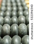 Small photo of Vintage abacus depth of field