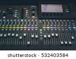 the digital studio mixer | Shutterstock . vector #532403584