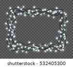 set of realistic color garlands ... | Shutterstock .eps vector #532405300