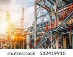 industrial zone the equipment... | Shutterstock . vector #532419910