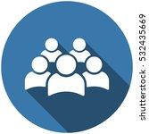 people icon vector flat design... | Shutterstock .eps vector #532435669