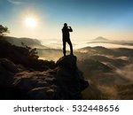 Tourist Takes Photos With Smart ...