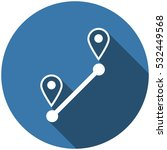 location icon vector flat...