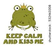 illustration of the frog prince ... | Shutterstock .eps vector #532463308