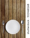 table setting  spoon and fork...   Shutterstock . vector #532468168