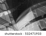 black and white double exposure ...   Shutterstock . vector #532471933