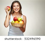 Smiling Woman With Healthy...
