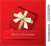 invitation merry christmas... | Shutterstock .eps vector #532502854