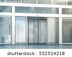blank sliding glass doors... | Shutterstock . vector #532514218