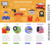 car service and assistance... | Shutterstock .eps vector #532521574