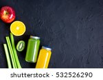 freshly squeezed juices for... | Shutterstock . vector #532526290