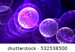 synthetic cells background  3d... | Shutterstock . vector #532538500