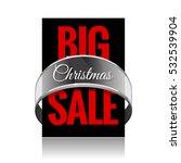 big christmas sale. black label ...   Shutterstock .eps vector #532539904