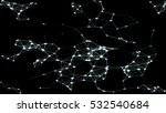 abstract plexus structure... | Shutterstock .eps vector #532540684