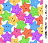 seamless pattern for childish... | Shutterstock . vector #532558300