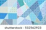 Vector Patchwork Pattern....