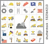 set of construction icons.... | Shutterstock .eps vector #532564213