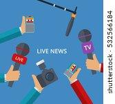 vector illustration of live... | Shutterstock .eps vector #532566184