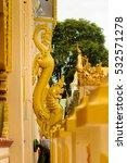 mahamuni buddha temple  a...   Shutterstock . vector #532571278