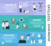 bionic technology horizontal... | Shutterstock .eps vector #532575163