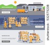 warehouse inside and outside... | Shutterstock .eps vector #532575238
