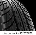 car tires close up winter wheel