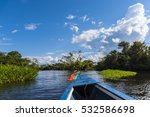 boat trip in the bolivian... | Shutterstock . vector #532586698