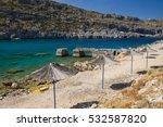 greece  roshos island | Shutterstock . vector #532587820