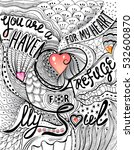 hand drawn doodle letterind ...   Shutterstock .eps vector #532600870