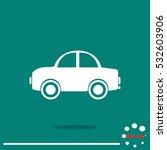 car icon. | Shutterstock .eps vector #532603906