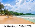kata noi beach at phuket island ... | Shutterstock . vector #532616788