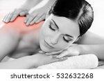 healthy beautiful woman spa.... | Shutterstock . vector #532632268