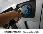 charging power to vehicles.... | Shutterstock . vector #532639258