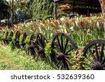 Wagon Wheel Fence Enclosed...