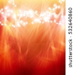colourful glowing christmas... | Shutterstock .eps vector #532640860
