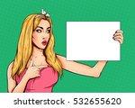 pop art vintage advertising... | Shutterstock .eps vector #532655620