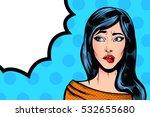 pop art vintage advertising... | Shutterstock .eps vector #532655680