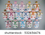 snowman background   christmas... | Shutterstock . vector #532656676