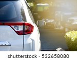 car parking on the road prepare ... | Shutterstock . vector #532658080