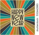 abstract vintage mid century... | Shutterstock .eps vector #532662883