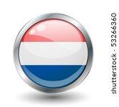 netherlands  shiny button flag...   Shutterstock .eps vector #53266360