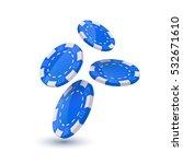 poker chips design template.... | Shutterstock .eps vector #532671610